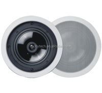 Square high quality 2-way coaxial hifi home audio inceiling/inwall speaker