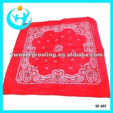 fashion cotton printed bandana