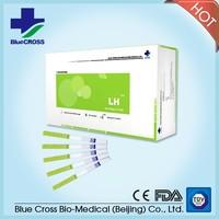 Hot sell ! LH ovulation rapid test kit LH test kit LH ovulation dipstick test