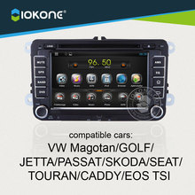 Factory supply 2din gps navigation android system with DVD/GPS/3G/WIFI/CANBUS for vw magotan