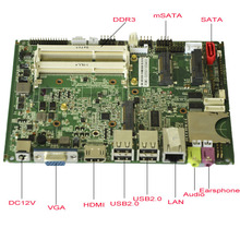 Intel ATOM D2550 1.86GHz Atom industrial Mini Itx computer Motherboard PCM3-D2550