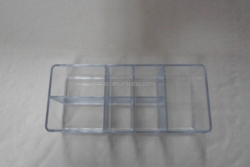 7-Inch Plastic Make up Cosmetic Organizer
