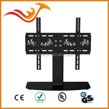 TV wall mount with DVD bracket180 degrees tilting down bracket for 23-46 inches LED/ LCD/Plasma TV screen
