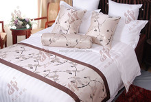 high-grade bed runner and cushion cover,fancy bed throw,cushions and bed runners