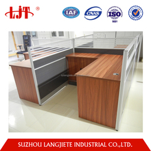 Factory cheap price commerical furniture modern office cubicle design style made in China
