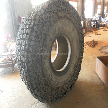 Hot sale tyre protection chains/heavy equipment tyre chain/tractor snow chain for Used Wheel Loader