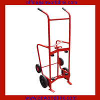 Heavy Duty Transporting Metal Hand Moving vase drum dolly