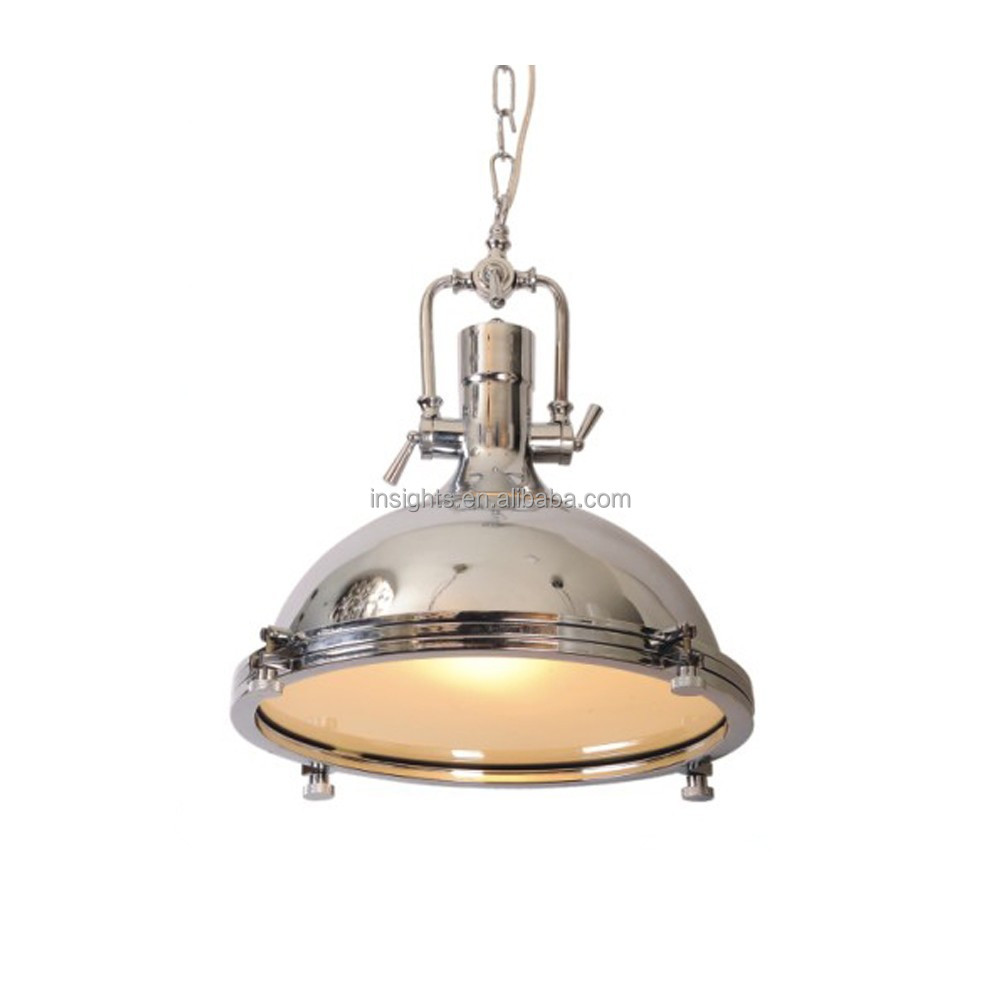 Vintage Antique Industrial Pendant Light For Coffee Shop
