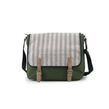2016 New style military green stylish canvas messenger bag men & women