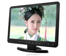 Shenzhen LCD 16 inch flat screen TV wholesale built-in DVD player