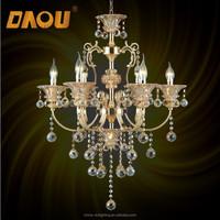 Wholesale modern fancy indoor crystal pendant light home rustic chandelier