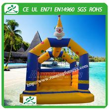Professional design inflatable giraffe bouncy castle