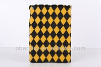 New Fashion Smart Dormancy Holster Plaid Horse Hair Case Shell For iPad mini 2
