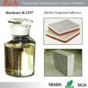 Chemical Stone repairing epoxy Marble epoxy adhesives Epoxy resin Epoxy hardener R-2257 floor hardener