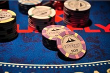 SUN-FLY Apollon Hybrid poker chips,custom gaming chips.ceramic casino chips