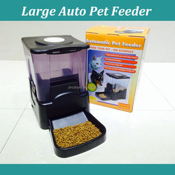 10.8 Liters Automatic animal Feeder , 1to 4 times daily feeding