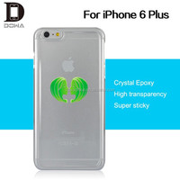 100% ultra-clear protective directly epoxy phone shell cover