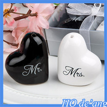 Creative Wedding Favor wedding supplies promotion gifts factory direct wholesale heart-shaped spice jar MHo-123