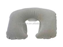 100% Polyester custom travel pillow U-shape Inflatable Travel Pillow