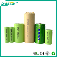 High discharge rate nimh c 4000mah 1.2v rechargeable batteries for oem