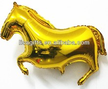 hot selling golden color 2014 new year horse