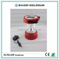Portable rechargeable multi-function home solar lanterns solar camping lantern with mobile phone charger