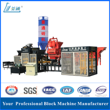 LTQT10-15 automatic hydraulic pressure brick machine for myanmar
