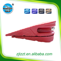 Pink Comfortable PVC foam height increase insoles for shoes PVC888