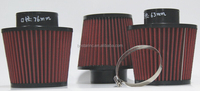 Universal Cold Air Intake / 3' Air Filter with stainless steel mesh
