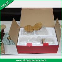 Factory wholesale latch lid glass jars