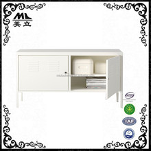 Colorful double door ikea ps cabinet/used ps locker/steel tv cabinet