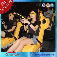 High quality arcade 5d theatre 5d movie 7d cinema mobile 7d theater equipment for sale