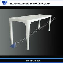 2013 TW Exclusive and Unique Design pure white pub commercial cocktail bar table