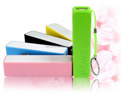 perfume portable charger/power bank 2600mah in hot promotional from Shenzhen,China factroy
