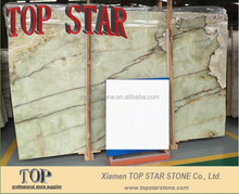 Luxurious home and hotel decoration marble light green onyx