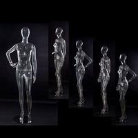 full body plastic mannequin, cheap transparent plastic female mannequin