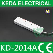 British Standard 3 Pin Electric Socket / extension socket / power strip
