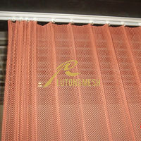 Decorative metal wire mesh curtains for hotel, bar, home,offic partition wall