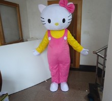Hello kitty promotion cartoon mascot costume for supermarket