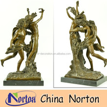 indoor decoration mand and woman bronze nude lover statue NTBH-S0511S