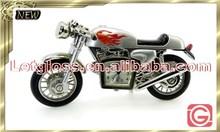 Concept zinc alloy Motorcycle novelty desk clock