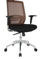 Fashionable Revolving Office Chair With Arms (MeshChair-801)