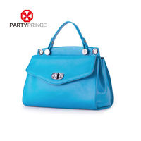 korean style fashion branded leather lady handbags 2014 custom