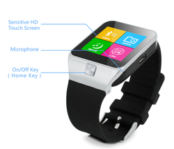 New Hot Sale! 2015 China Android U8 Smart Watch phone 1.54 Inch MTK6260 Bluetooth 3.0 Smart Watch Phone