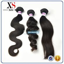 100% unprocessed virgin indian remy loose curl hair indian man hair weave