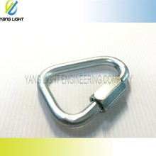 Made in Taiwan High Quality Stamping Thread U shape Polished Triangle stainless steel snap hook