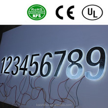 High quality LED backlit stainless steel letter sign /advertising billboard