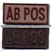 La insignia de personalización de bordados