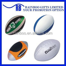 Hot selling Eco-friendly logo printed cheap funny rugby ball for promotion