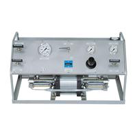 gas pipeline pressure test pump